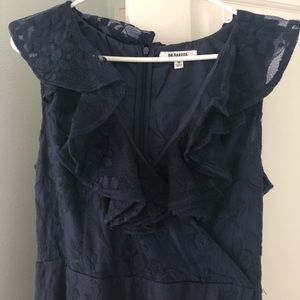BB Dakota Navy Blue Mini Dress